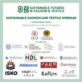 SUSTAINABLE FUTURES IN FASHION AND TEXTILE WEBINAR_9 NOVEMBRE